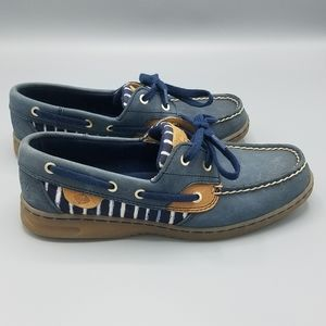 Sperry Top Sider Blue Loafers Size 6.5